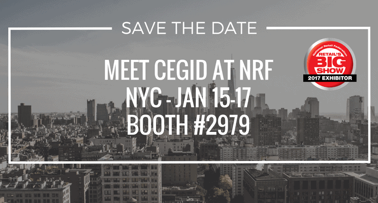 Let's meet at NRF 2017 - Cegid