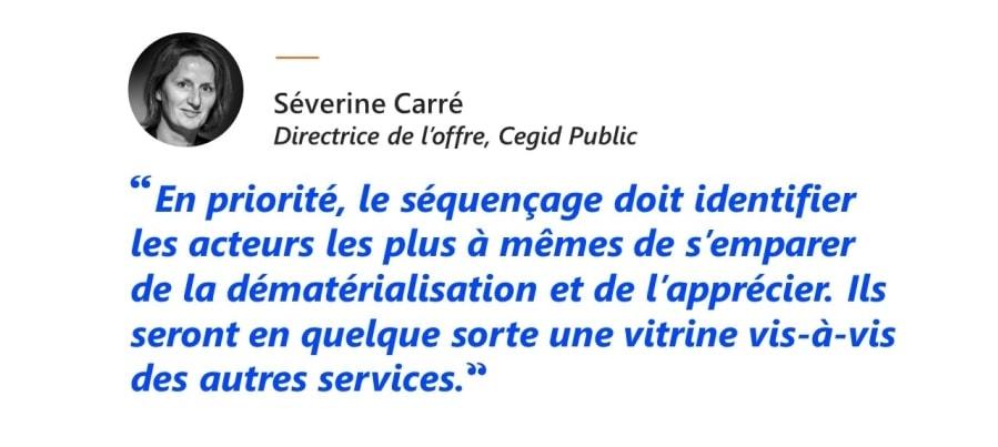 Séverine Carré, Directrice de l'offre, Cegid Public