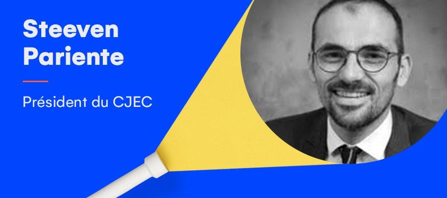 Rencontre avec Steeven Pariente, nouveau président du CJEC